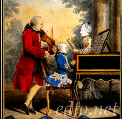 a history of wolfgangs father Find wolfgang amadeus mozart biography and history on allmusic  along with his father leopold, a composer  the following year young wolfgang composed his first .